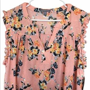NWT Floral Sleeveless Top